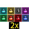 2x Potions Mix-Rainbow