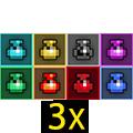 3x Potions Mix-Rainbow