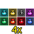 4x Potions Mix-Rainbow