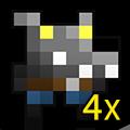 4x B.B. Wolf Skin