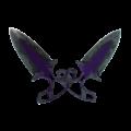 ★ Shadow Daggers | Ultraviolet (Battle-Scarred)