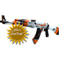 StatTrak™ AK-47 | Asiimov (Minimal Wear)